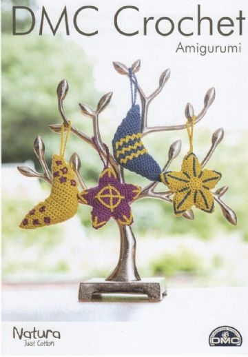 DMC Moon and Stars Decorations Crochet Pattern, 15402L/2